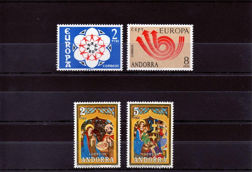 ANDORRA - Año completo 1973