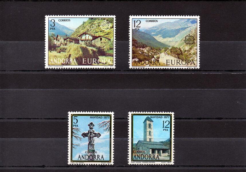ANDORRA - Año completo 1977