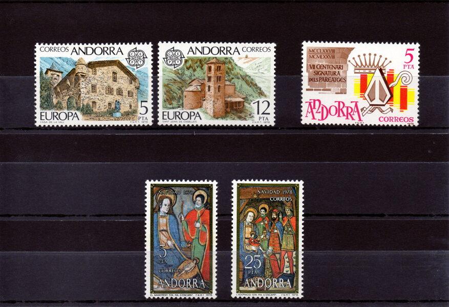 ANDORRA - Año completo 1978