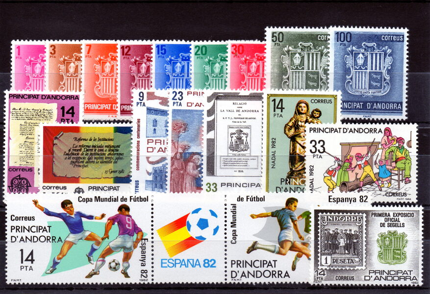 ANDORRA - Año completo 1982