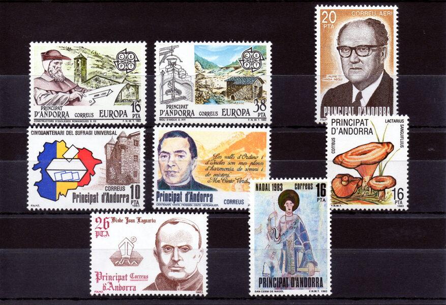 ANDORRA - Año completo 1983