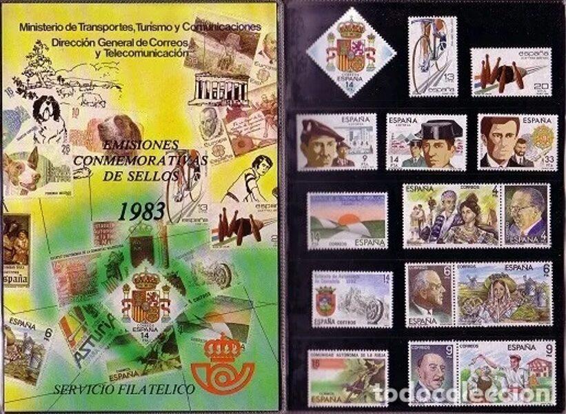 Libro Oficial de Correos año 1983 <con sellos>