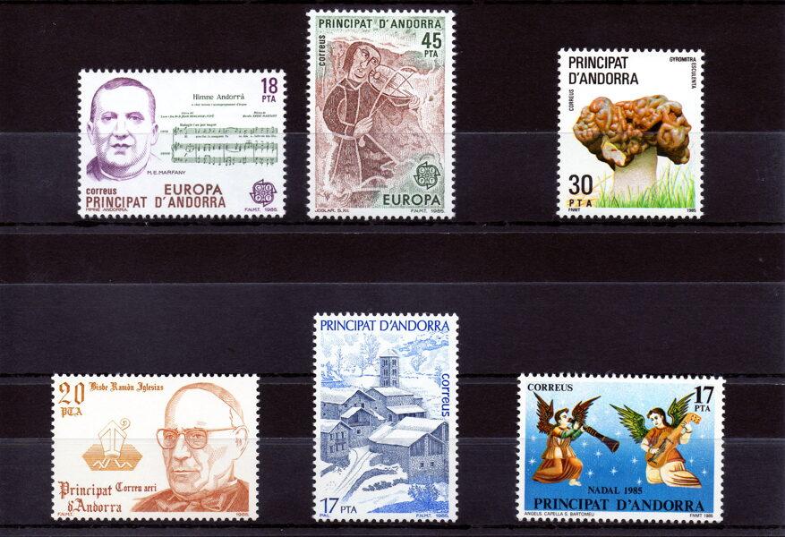ANDORRA - Año completo 1985