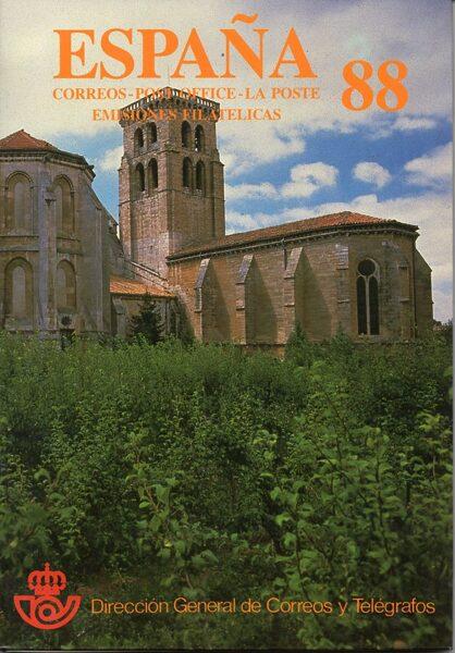 Libro Oficial de Correos año 1988