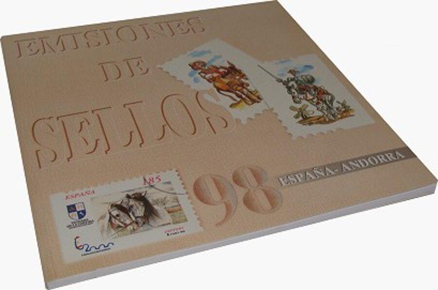 Libro Oficial de Correos año 1998 **Con Sellos**
