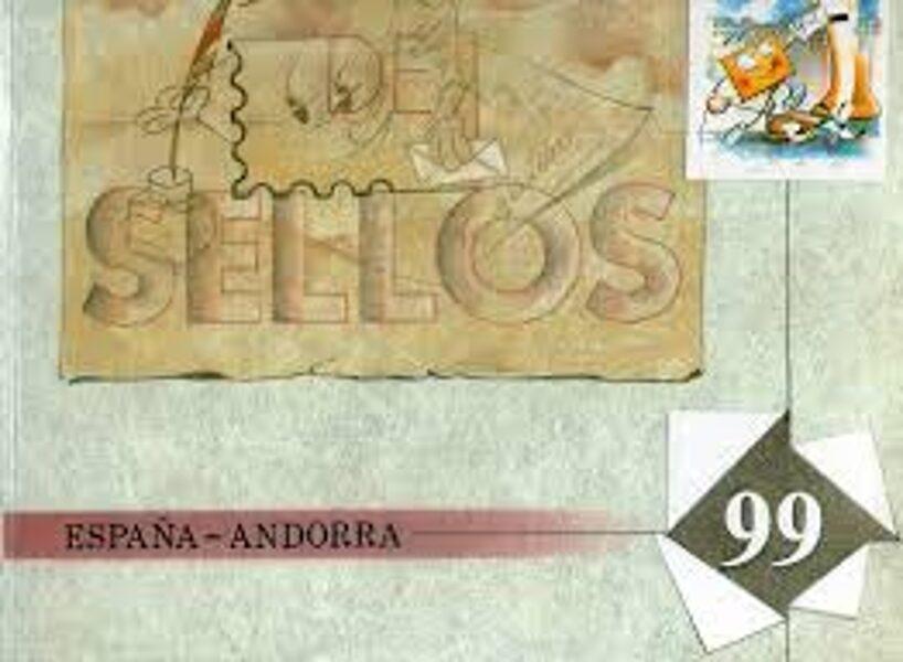 Libro Oficial de Correos año 1999 **Con Sellos**