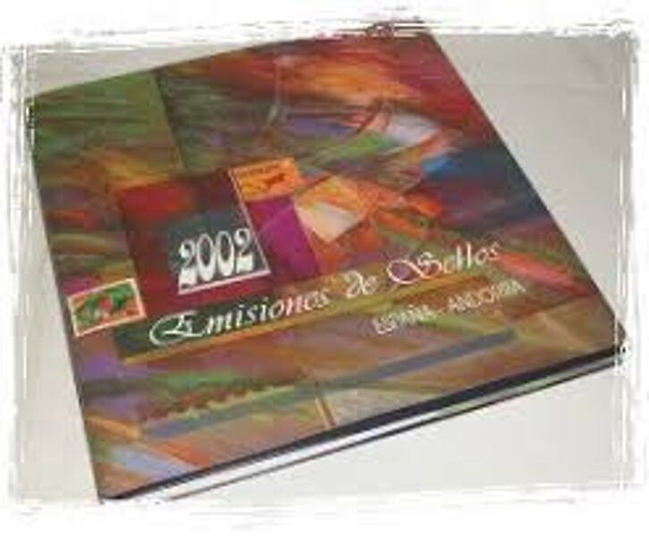 Libro Oficial de Correos año 2002
