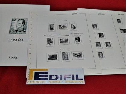 EDIFIL años 1976 a 1980 sin estuches - LUJO / Ref. 099