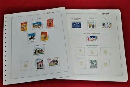 EDIFIL años 1970 a 1976 con sellos nuevos