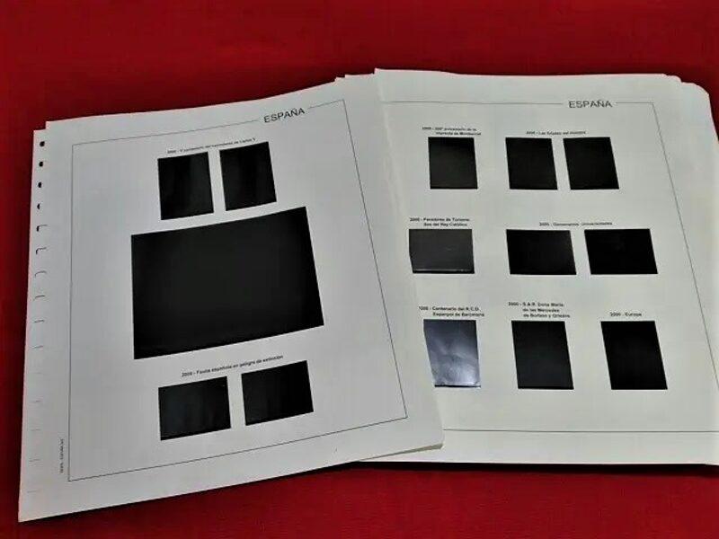 EDIFIL 1991-1992 montado con estuches negros / Ref. 227