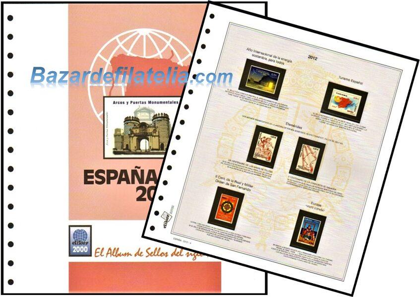 EFILCAR Especial años 1986 a 1991 montado con estuches transparentes / Ref. 234c