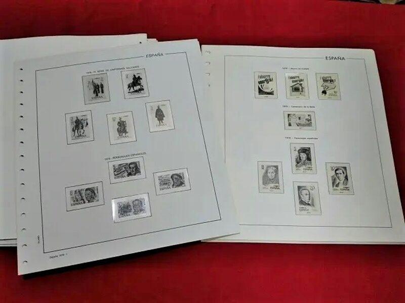 FILABO años 1981-1982-1983 montados con estuches transparentes / Ref. 276a