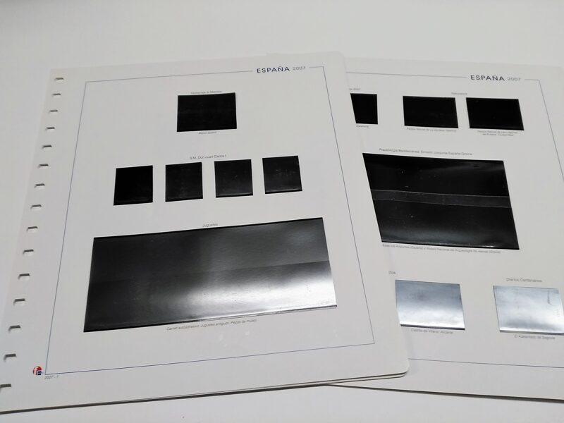 MANFIL año 1994 montado con estuches negros / Ref. s027