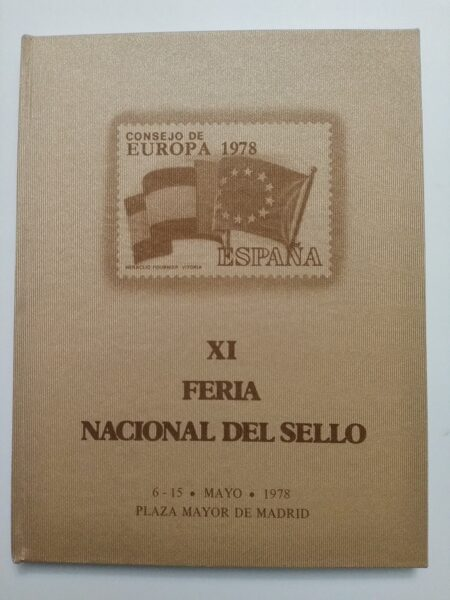 Libro Oficial XI Feria Nacional del Sello año 1978