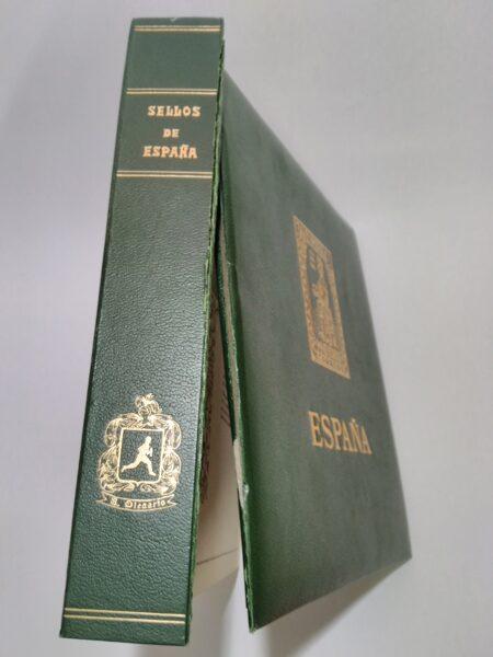 Album de Sellos OLEGARIO Imperial  *con defecto* - sin cajetín / Re. alb082