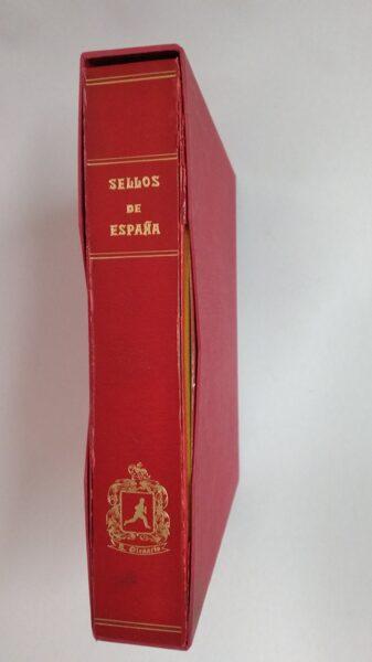 OLEGARIO Imperial 2 tornillos album de sellos / Ref. alb153