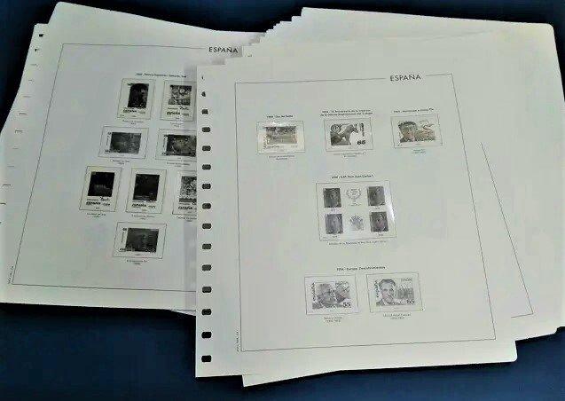 MANFIL 1994 a 1999 (sin 1998)  sin estuches  / Ref. 110