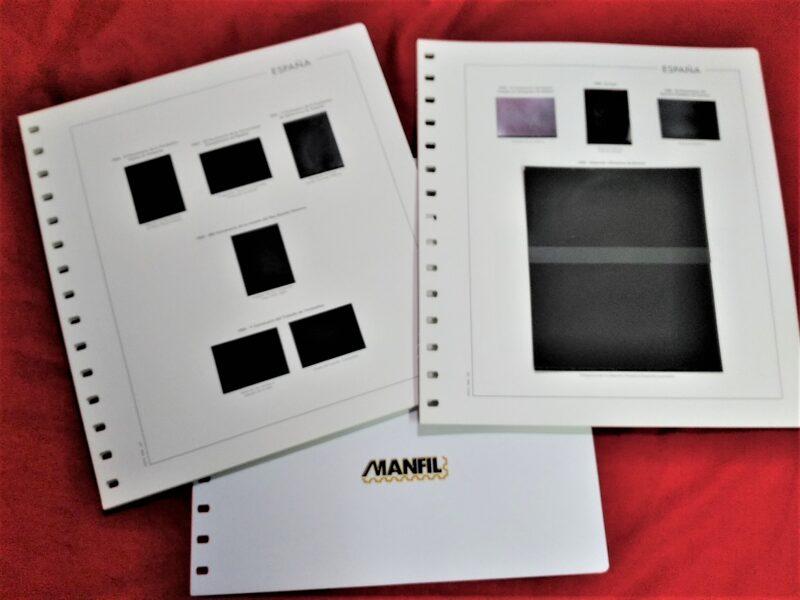 MANFIL año 1992-1993 montado con estuches negros / Ref. 261
