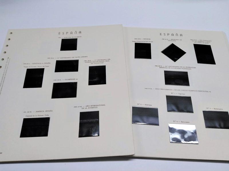 OLEGARIO años 1976 a 1981 montado con estuches negros / Ref. 018