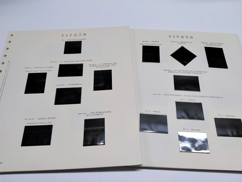 OLEGARIO años 1976 a 1987 montado con estuches negros / Ref. 174