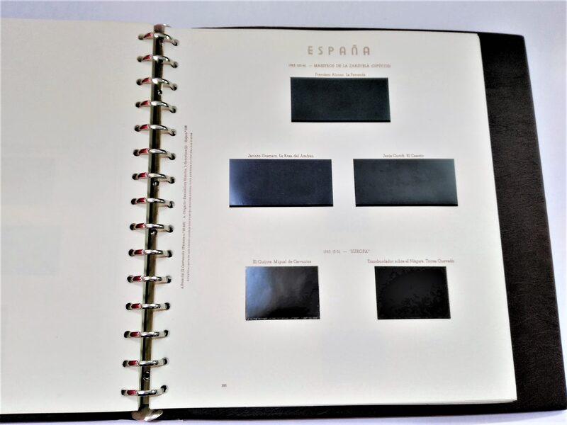 OLEGARIO años 1981 a 1985 montado con estuches negros / Ref. 301a