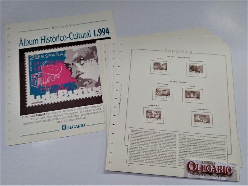 OLEGARIO años 1994-1995 sin estuches < TEXTOS en CATALAN >  / Ref. 240a