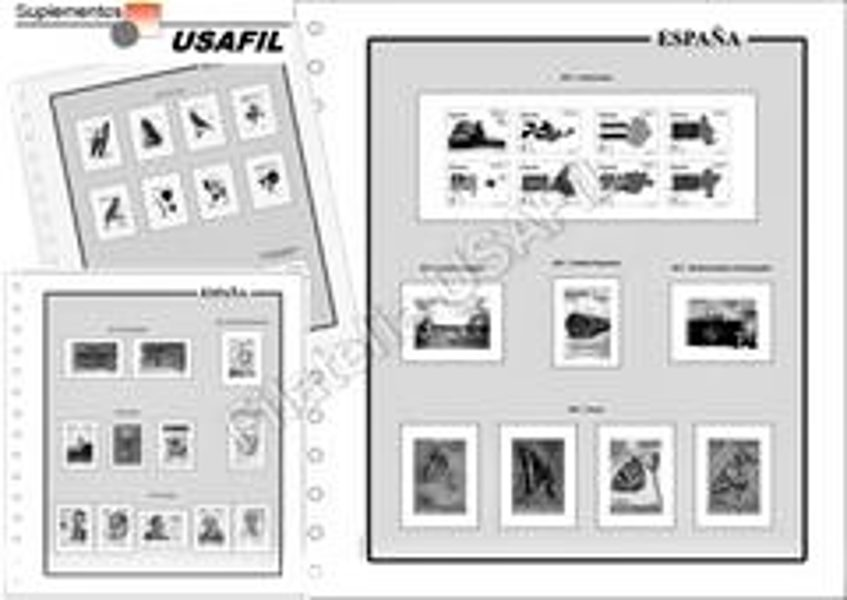 USAFIL 2007 - 2008 - 2009 sin estuches