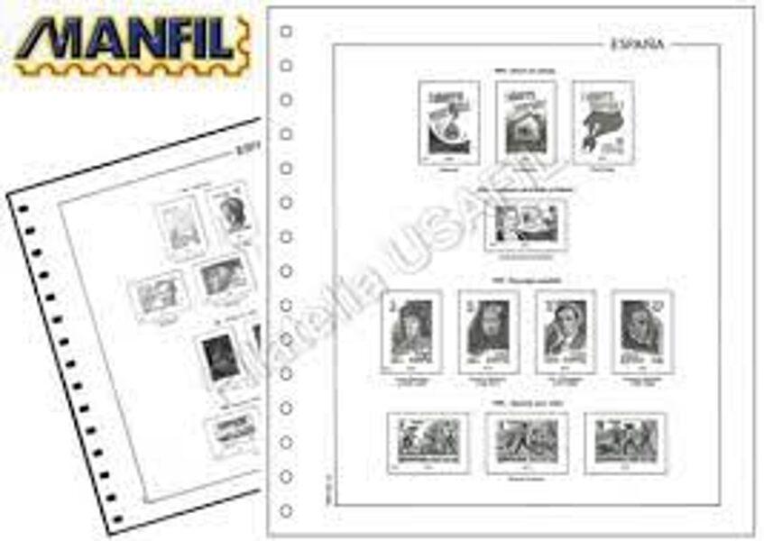 MANFIL años 1976 a 1989  sin estuches / Ref. 349