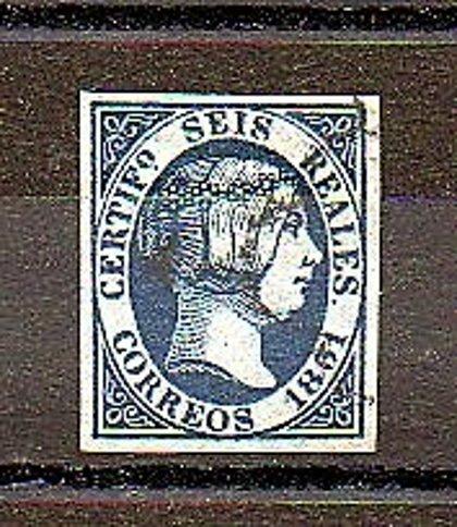 ESPAÑA //  FALSO  Año 1851 - nº 10