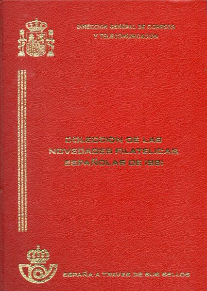 Libro Oficial de Correos año 1981